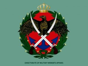 DIRECTORATE OF MILITARY WOMENS AFFAIRS PRESENTATION ON THE