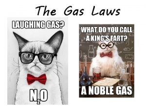 The Gas Laws Proportionality Directly Proportional Indirectly Proportional