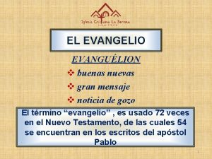 EL EVANGELIO EVANGULION v buenas nuevas v gran