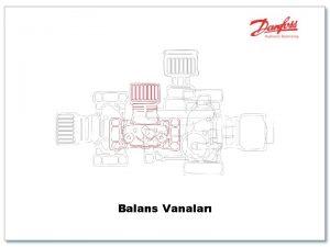 Balans Vanalar Balanslama Merkezi Istma Merkezi Soutma Scak