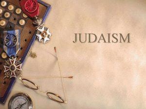 JUDAISM Judaism w Worldwide 14 551 000 Jews
