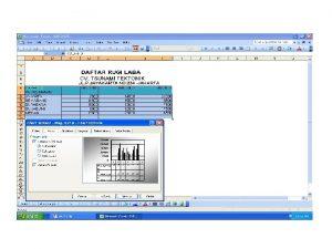 Tab Gridlines digunakan untuk mengatur tampilan garis skala