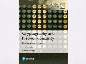 Cryptography and Network Security Seventh Edition Global Edition