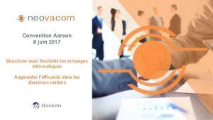 Convention Aareon 8 juin 2017 Structurer avec flexibilit