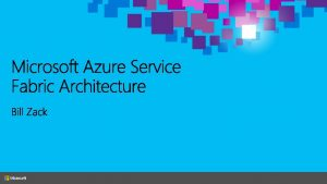 Cloud Architect and Developer NET Developer from the