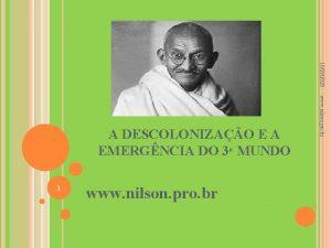 10282020 1 www nilson pro br A DESCOLONIZAO