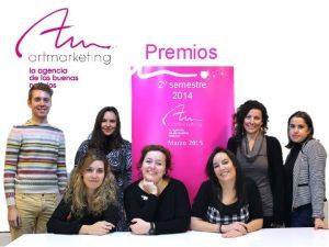 Premios 2 semestre 2014 Marzo 2015 Categorias premiadas