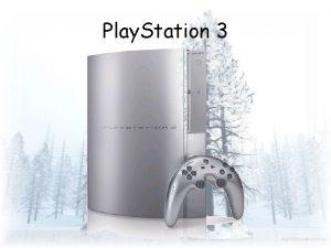 Play Station 3 Qu es La Play Station