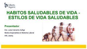 HABITOS SALUDABLES DE VIDA ESTILOS DE VIDA SALUDABLES