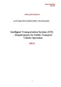 Draft AIS140DF 1 May 2017 FINALIZED DRAFT AUTOMOTIVE
