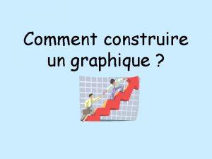 Comment construire un graphique Choisir les axes x