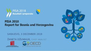 PISA 2018 Report for Bosnia and Herzegovina SARAJEVO
