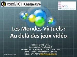 Les Mondes Virtuels Au del des jeux vido