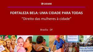1 FORTALEZA BELA UMA CIDADE PARA TODAS Direito