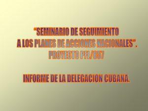 Repblica de Cuba El archipilago de Cuba est