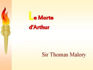 Le Morte dArthur Sir Thomas Malory Contents Sir