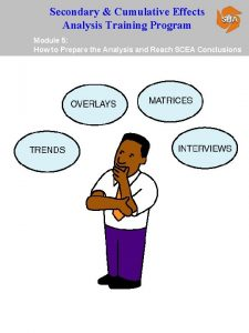 Secondary Cumulative Effects Analysis Training Program Module 5