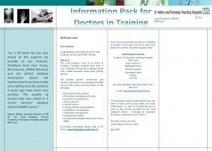 Lead Employer HENW Mersey Welcome note Dear trainees