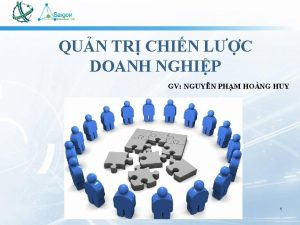 QUN TR CHIN LC DOANH NGHIP GV NGUYN