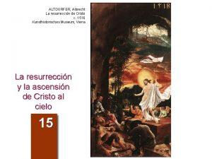 ALTDORFER Albrecht La resurreccin de Cristo c 1516
