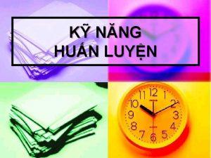 K NNG HUN LUYN I MC CH NGHA