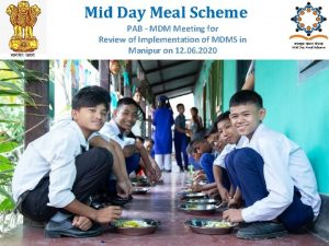 Mid Day Meal Scheme PAB MDM Meeting for