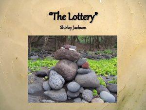 The Lottery Shirley Jackson Allusions Ancient Ritual Sacrifice
