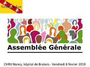 CHRU Nancy hpital de Brabois Vendredi 8 fvrier