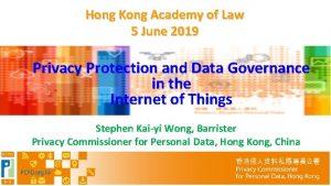 Hong Kong Academy of Law 5 June 2019