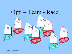 Opti Team Race Uli Finckh Breitbrunn 1 Der