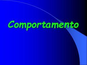 Comportamento Forrageio Locomoo Especializaes Alimentares Presas mais comuns