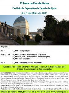 1 Festa da Flor de Lisboa Pavilho de