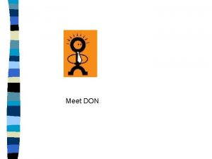 Meet DON Meet DON Direction Meet DON Direction