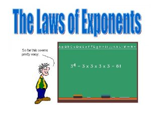 Exponents exponent Power base 53 means 3 factors