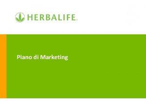 Piano di Marketing Cos la vendita diretta la