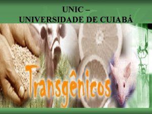 UNIC UNIVERSIDADE DE CUIAB 1 n n n