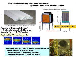 Fast detectors for magnetized near detectors in Superbeam