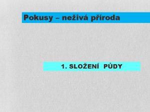 Pokusy neiv proda 1 SLOEN PDY ZEYEROVA 3354