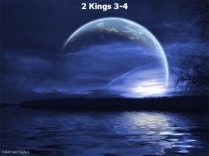 2 Kings 3 4 2 Kings 3 1