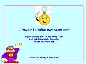 HNG DN TRNH BY SNG KIN Ngi hng