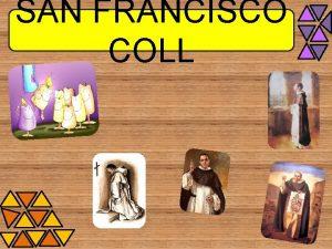 SAN FRANCISCO COLL BIOGRA FA FRANCISCO COLL GUITART