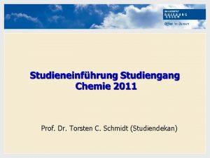 Hier kann Ihr Text stehen Prof Dr Torsten