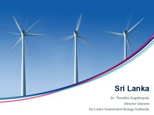 Sri Lanka Dr Thusitha Sugathapala Director General Sri