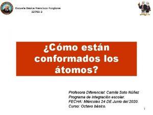 Cmo estn conformados los tomos Profesora Diferencial Camila