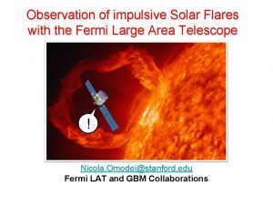 Observation of impulsive Solar Flares with the Fermi