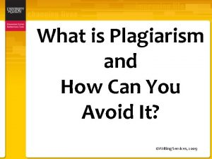 What is Plagiarism and How Can You Avoid