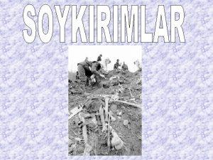 SPANYOL VE AMERKALILARIN YERLLERE UYGULADII SOYKIRIM 1492 ylnda