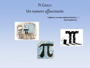 Pi Greco Un numero affascinante Esplorare come esplorare
