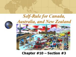SelfRule for Canada Australia and New Zealand Chapter