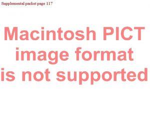 Supplemental packet page 117 Supplemental packet page 119